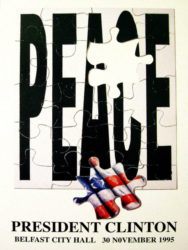 Jigsaw Puzzle Peace Poster