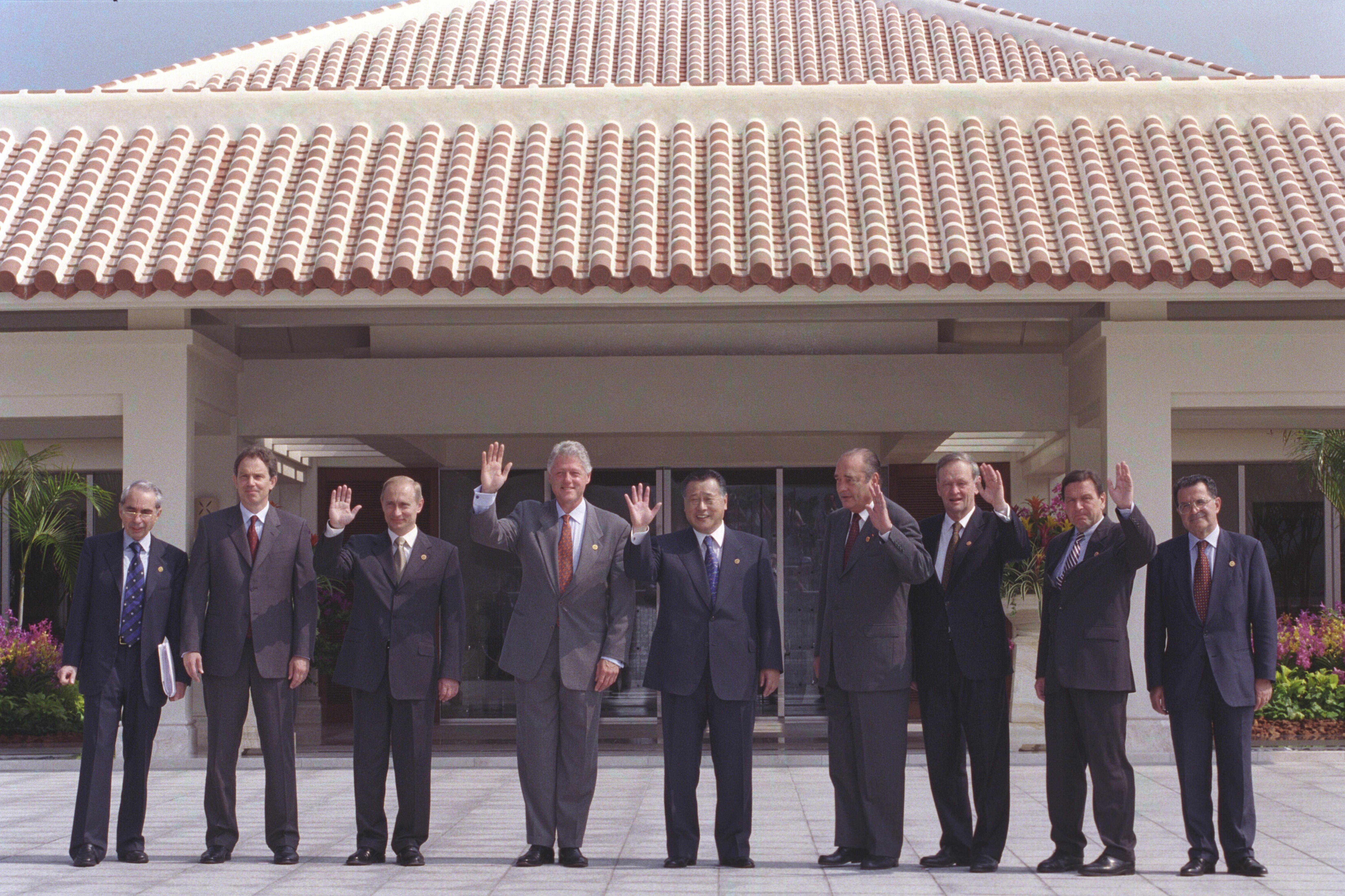 2000 G-8 Leader Summit