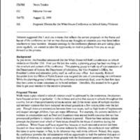 Youth Development/Afterschool/Violence-Conference on School Violence [10/15/98] [2]