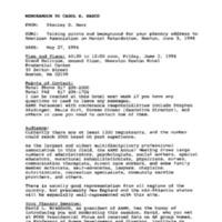 American Assoc. on Mental Retardation (AAMR) 6-3-94 10:30-12:00