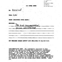 Betsey Wright Amb. John Glavin 4-22-93 2:00 p.m. (cancelled)