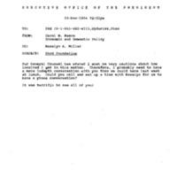 Phone Call - Diane Sydoriak 4 Nov. 1994 4:30