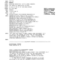 Declassified Documents Concerning Iridium Satellite Communications System