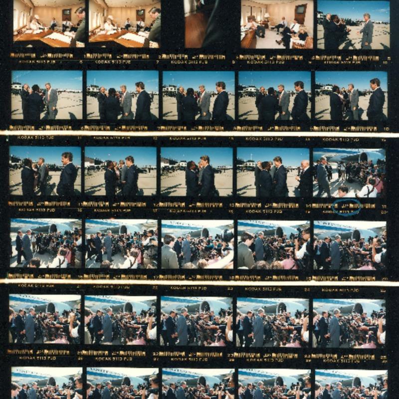 Photograph Contact Sheets for September 9, 1993 through September 11, 1993
