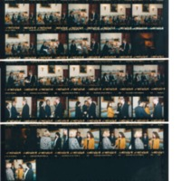 Photograph Contact Sheets from April 8, 13-16, 1993