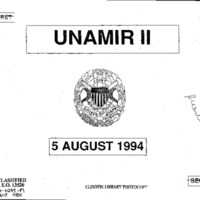 Declassified documents on Rwanda