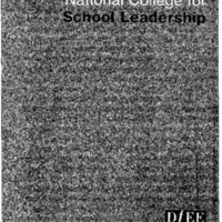 Leadership: National College for School Leadership