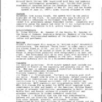 Canada - Parliament Speech 2/23/95