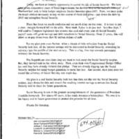RA [Radio Address] Social Security 10/22/99 [2]