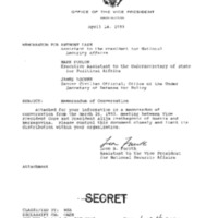Declassifed Documents concerning Bosnia