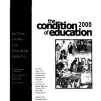 Condition of Education 2000 [publication] [1]