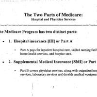 Medicare Reform - Extend Solvency [18]