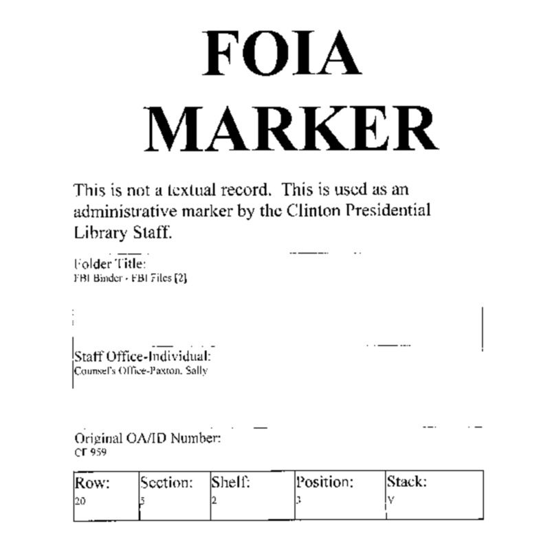 FBI Binder – FBI Files [2]