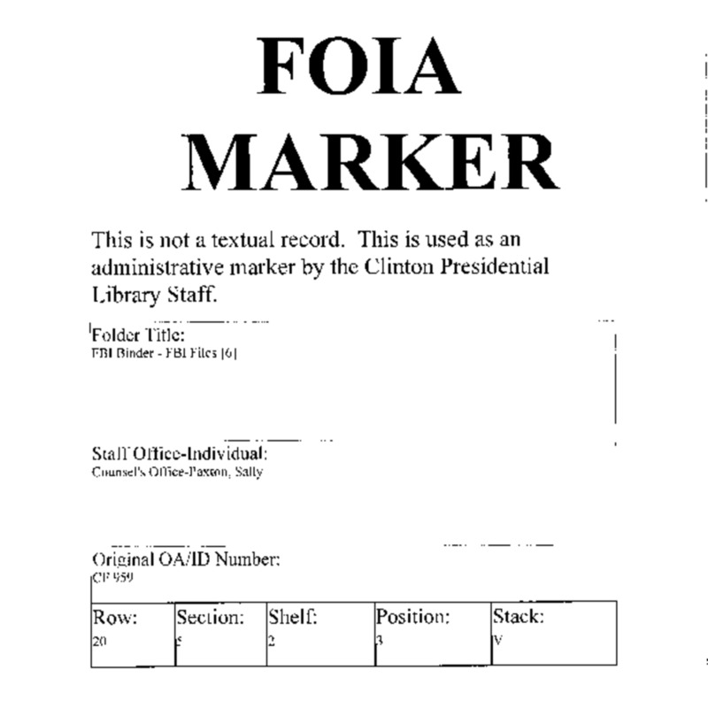 FBI Binder – FBI Files [6]