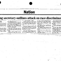 [Clippings - Civil Rights] [1]
