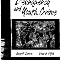 Delinquency and Youth Crime [publication]