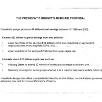 Balanced Budget Act/Medicaid [5]