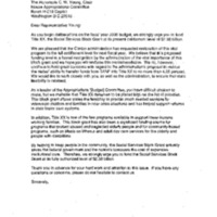 Child Welfare/SSBG [Social Services Block Grant] [2]