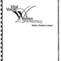 Vital Voices [Women in Democracy, Belfast, Ireland]
