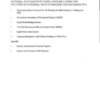 National Standards: Press Package [1]