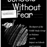 Youth Development/Afterschool/Violence-Schools Without Fear [Bound Material]
