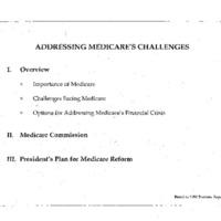 Medicare Reform - Extend Solvency [12]