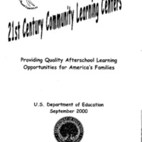 Community Learning Centers [publication] [Folder 2]
