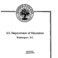 Crime: US Department of Education [The Goals 2000- Educate America Act of 1993]