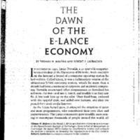 Nonstandard Worker/Emergent Workforce Articles