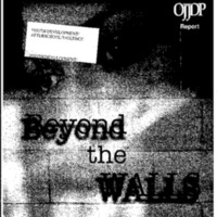 Youth Development/Afterschool/Violence-Beyond the Walls [Bound Material]