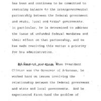 NCSL: Luncheon/Speech Hyatt Capitol Hill 16 Dec. 1994 12:00 - 1:30
