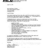 The ARC [Association of Retarded Citizens] Gov't Affairs Seminar 3-21-94 12:00-1:30