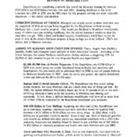 Medicare Reform - Extend Solvency [20]