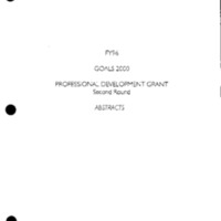 State Goals 2000 Projects [binder] [4]