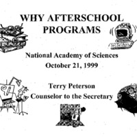 [Education - Afterschool Programs]