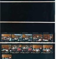 Photograph Contact Sheets from April 21-24, 1993