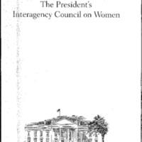 Beijing +5 [binder]: The President's Interagency Council on Women