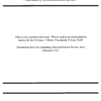 Declassified Documents Concerning Russia