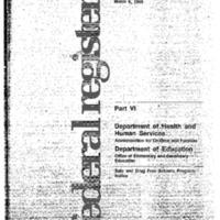 Prevention Program Briefing (Roosevelt Room) 10 March 1995 10:15 - 11:00am Pre-brief: 10:00 - 10:15 [2]