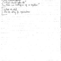 DPC Staff Meeting 7 Nov. 1994 5:00 - 6:00