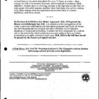 Youth Development/Afterschool/Violence-Juvenile Crime Legislation [1]