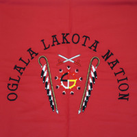 Pine Ridge Reservation shawl