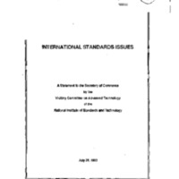 Dept. of Commerce - National Institute of Standards & Technology [1]