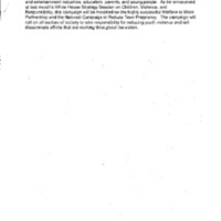 Youth Violence/FTC [Federal Trade Commission] Report [1]