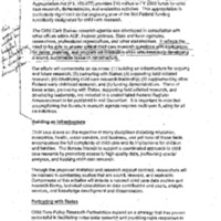 Child Care FY01 - Research on Infant and Toddler