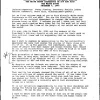 White House Conference on AIDS, Washington, D.C. 12-6-95 [3]