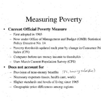 Poverty-Census Briefing 7/99