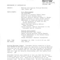 141 Memcon Russian Foreign Minister Igor Ivanov Sept 24 1998.pdf
