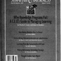 [Strategy and Business, Fourth Quarter1997 Issue 9]