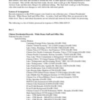 "Antony (""Tony"") Blinken - NSC Speechwriter - Collection Finding Aid"
